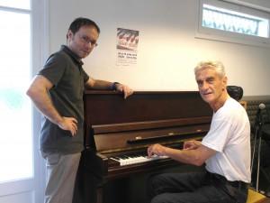 1ère MASTER CLASS Bernard Arcadio et Jean Philippe Valette été 2012 à Cazilhac