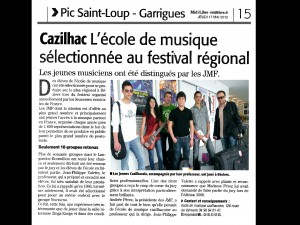 1 Article MIDI LIBRE mai 2012 2015