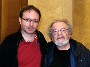 André Ceccarelli et Jean Philippe Valette 23072012