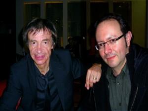 Francis Rimbert et Jean Philippe Valette Marseille mars 2010 à Marseille