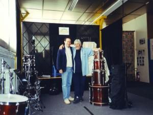 Jean Marc Lajudie et Jean Philippe Valette Drum School Lajudie Limoges 2001