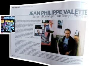 Jean Philippe Valette KB Recording avril 2011 www.jpvmusique.com