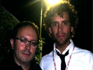 Mika et Jean Philippe Valette à Nîmes 2010