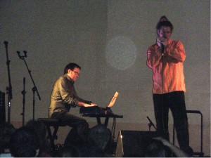Sébastien Charlier et Jean Philippe Valette Festival de Musiques Actuelles Ganges mai 2010